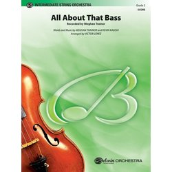 All About That Bass (Meghan Trainor) - Score & Parts, Grade 2
