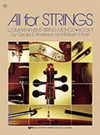 View larger image of All For Strings Book 1 - Violin