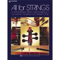 All For Strings Book 2 - Piano Accompaniment