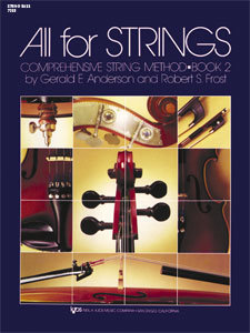 View larger image of All For Strings Book 2 - String Bass