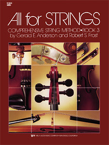 View larger image of All for Strings Book 3 - Violin