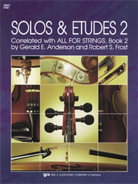 View larger image of All For Strings Solos & Etudes 2 - Cello