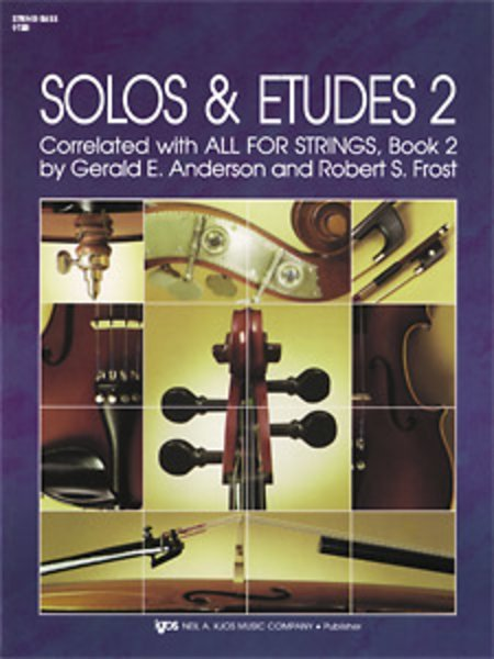 View larger image of All For Strings Solos & Etudes 2 - Double Bass