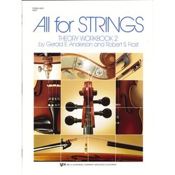 All for Strings Theory Workbook 2 - Double Bass
