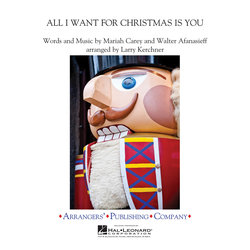 All I Want for Christmas Is You (Mariah Carey) - Score & Parts, Grade 3