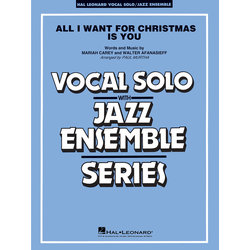 All I Want For Christmas Is You - Score & Parts Grade 3