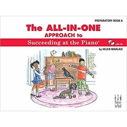 All-In-One Approach to Succeeding at the Piano, Preparatory Book A