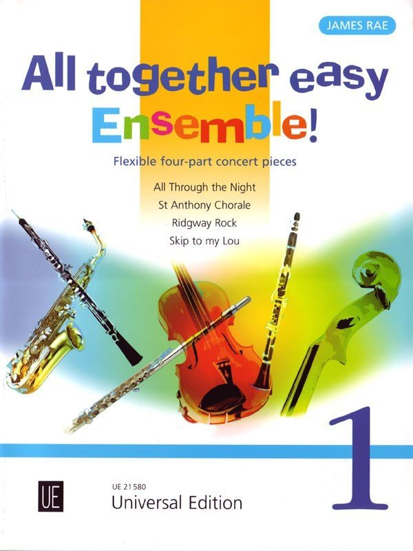 View larger image of All Together Easy Ensemble! Vol.1 - Flexible Four-Part Concert Pieces