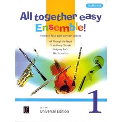 All Together Easy Ensemble! Vol.1 - Flexible Four-Part Concert Pieces