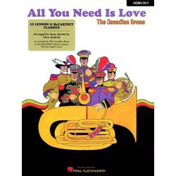 All You Need is Love (The Canadian Brass) - F Horn