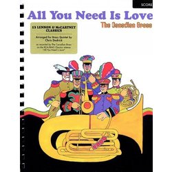 All You Need is Love (The Canadian Brass) - Score