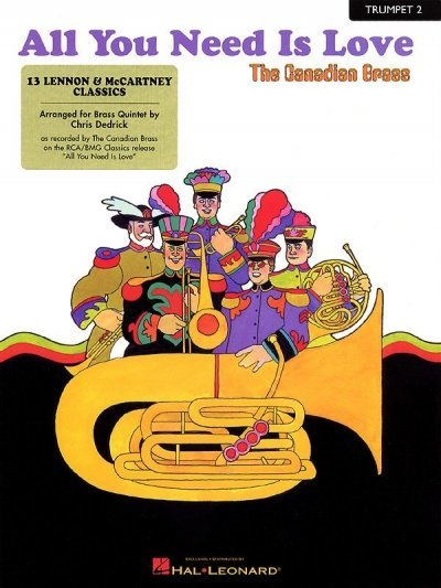 View larger image of All You Need Is Love (The Canadian Brass) - Trumpet 2