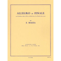 Allegro And Finale, For Double Bass, Tuba, Bass Saxhorn Or Bass Trombone