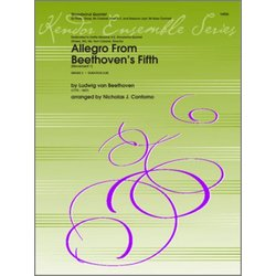 Allegro From Beethoven's Fifth (Movement 1) - Woodwind Quintet