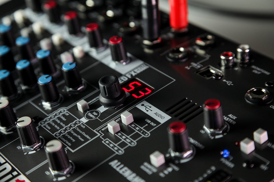 View larger image of Allen and Heath ZEDI-10FX Hybrid Compact Mixer / 4x4 USB Interface with FX