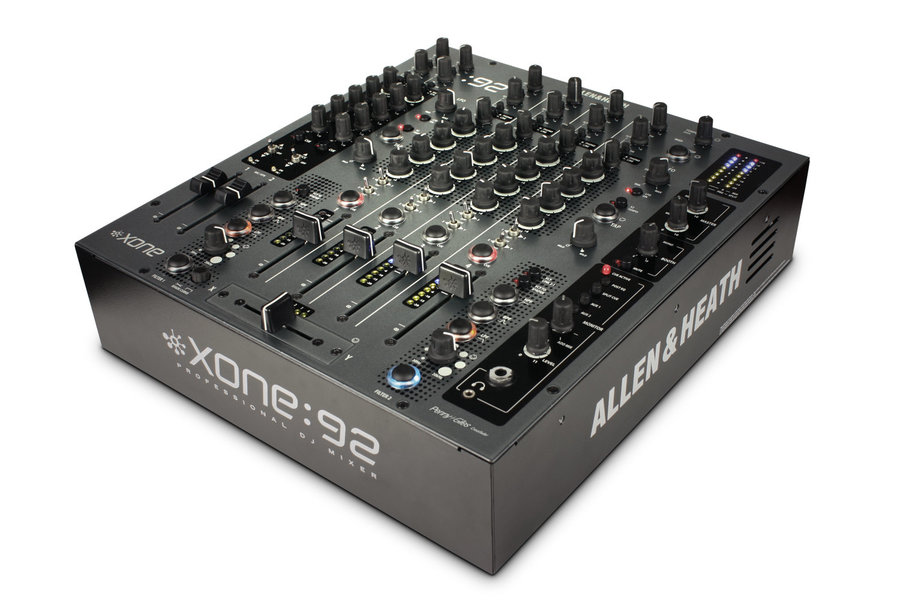 View larger image of Allen & Heath XONE:92 Professional 6 Channel Club/DJ Mixer
