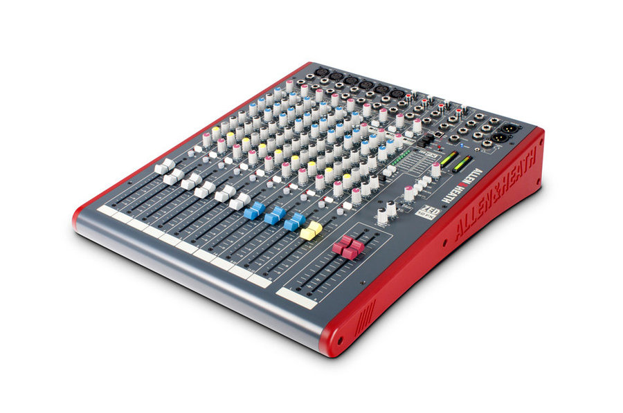View larger image of Allen & Heath ZED-12FX Multipurpose Mixer with FX for Live Sound and Recording