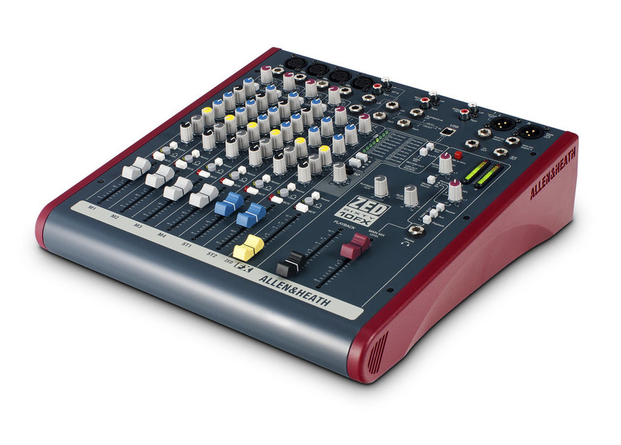 View larger image of Allen & Heath ZED60-10FX Multipurpose Mixer with FX for Live Sound and Recording