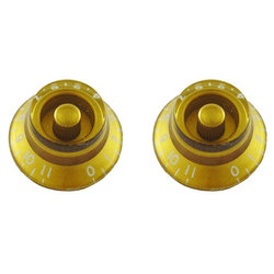 Allparts Bell Knobs - 0-11, Gold