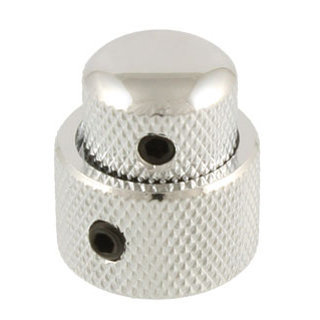 View larger image of Allparts Concentric Stacked Knobs - Chrome