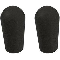 AllParts Metric Switch Tips for Import Guitars - Black, Pair
