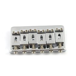 Allparts Non-Tremolo Bridge - Chrome