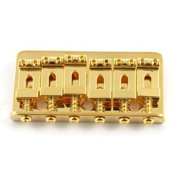 Allparts Non-Tremolo Bridge - Gold