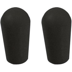 AllParts Switch Tips for USA Toggles - Black