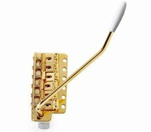 View larger image of AllParts Tremolo Bridge - Gold