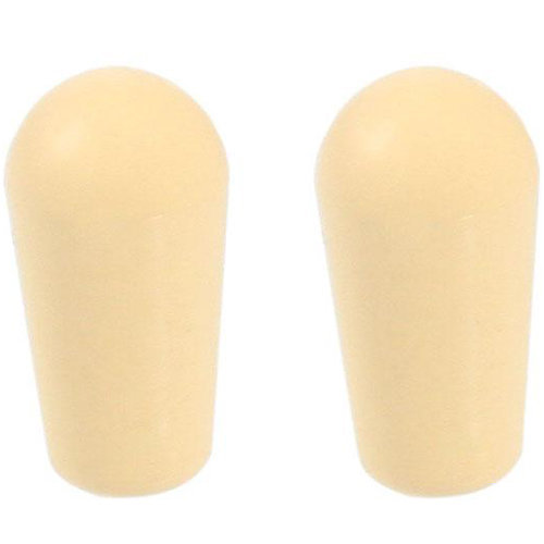 View larger image of Allparts USA Toggles Switch Tips - Cream