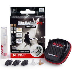 Alpine MusicSafe Pro Ear Plugs - Black