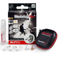 Alpine MusicSafe Pro Ear Plugs - Clear