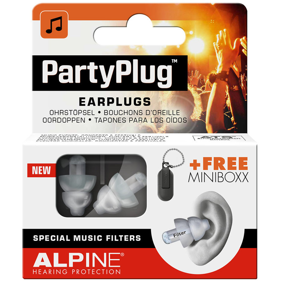 View larger image of Alpine PartyPlug Ear Plugs - Clear