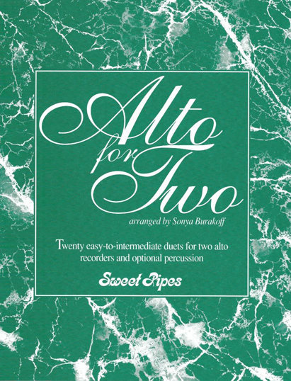 View larger image of Alto for Two (Recorder Duet - SS, SA)