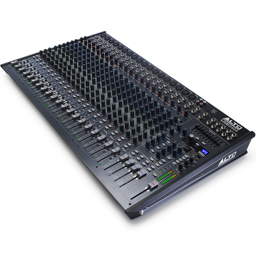 View larger image of Alto Professional Live 2404 24-Channel/4-Bus Mixer