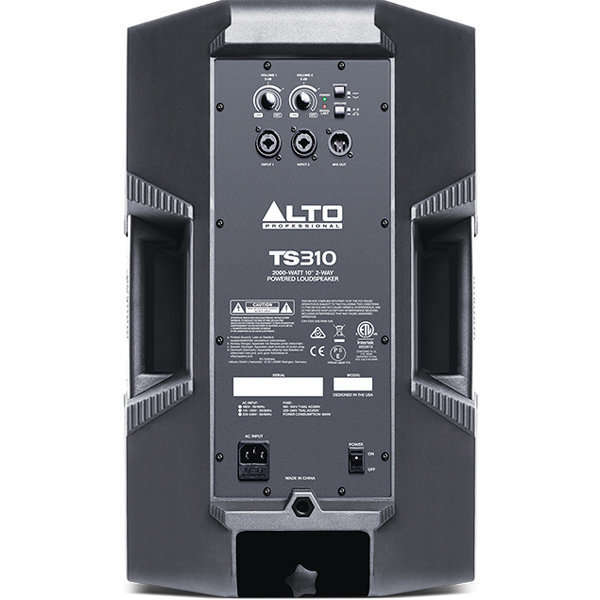 View larger image of Alto Professional Truesonic TS310 2-Way Powered Speaker - 10