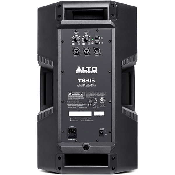 View larger image of Alto Professional Truesonic TS315 2-Way Powered Speaker - 15