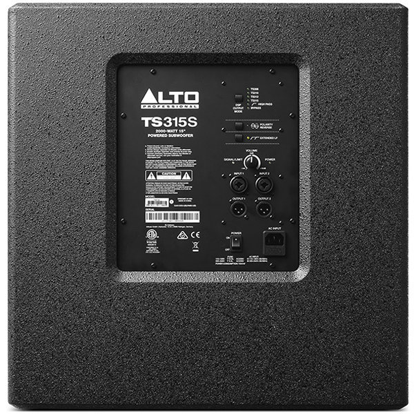 View larger image of Alto Professional TS315S Powered Subwoofer - 15