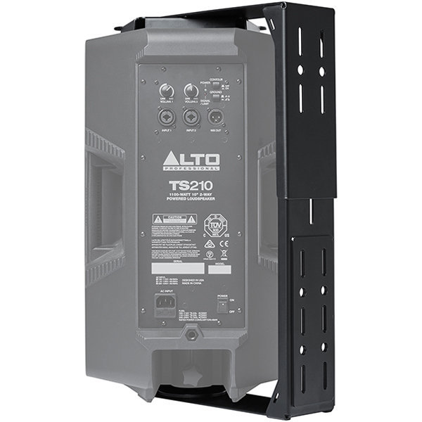View larger image of Alto Professional TSB810 Wall Mount Bracket for TS208 & TS210 - Black