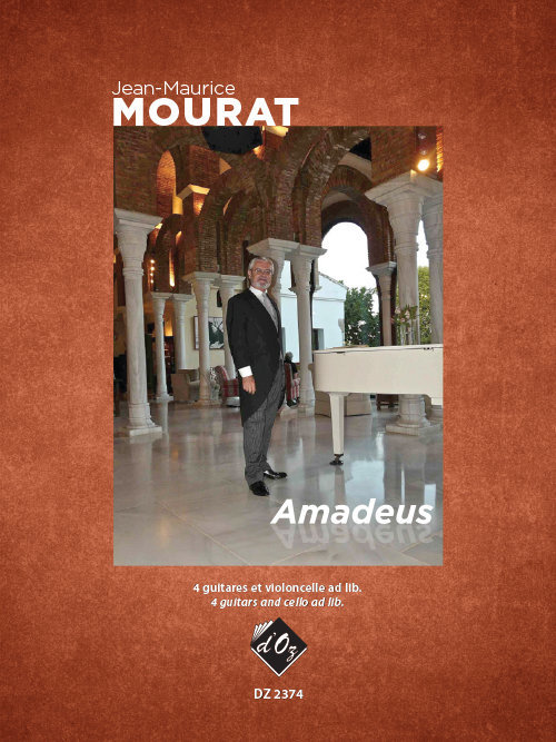 View larger image of Amadeus (Mourat) - Guitar Quartet