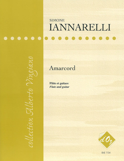 View larger image of Amarcord (Iannarelli) - Guitar & Flute Duet