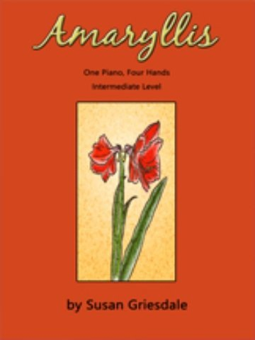 View larger image of Amaryllis (Griesdale) - Piano Duet (1P4H)