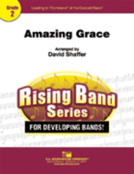 View larger image of Amazing Grace - Score & Parts, Grade 2