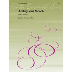 Ambiguous March - (Percussion Sextet)