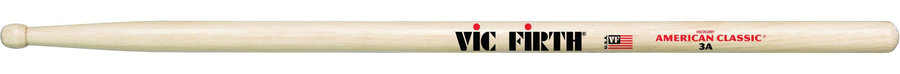 View larger image of American Classic Drum Sticks - 3A Barrel Tip
