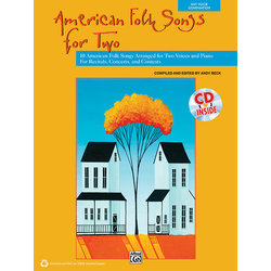 American Folk Songs for 2 w/CD