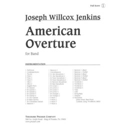 American Overture for Band - Score & Parts, Grade 4