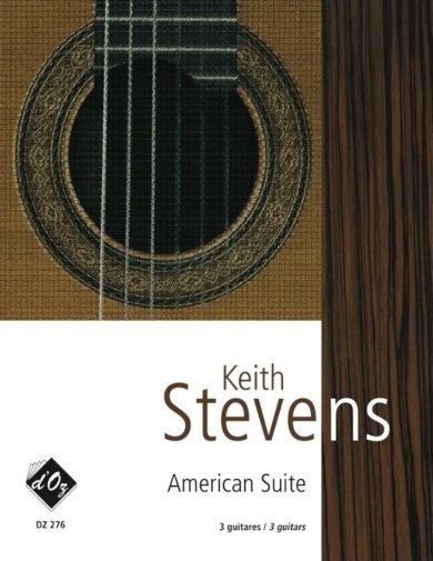 View larger image of American Suite (Stevens) - Guitar Trio