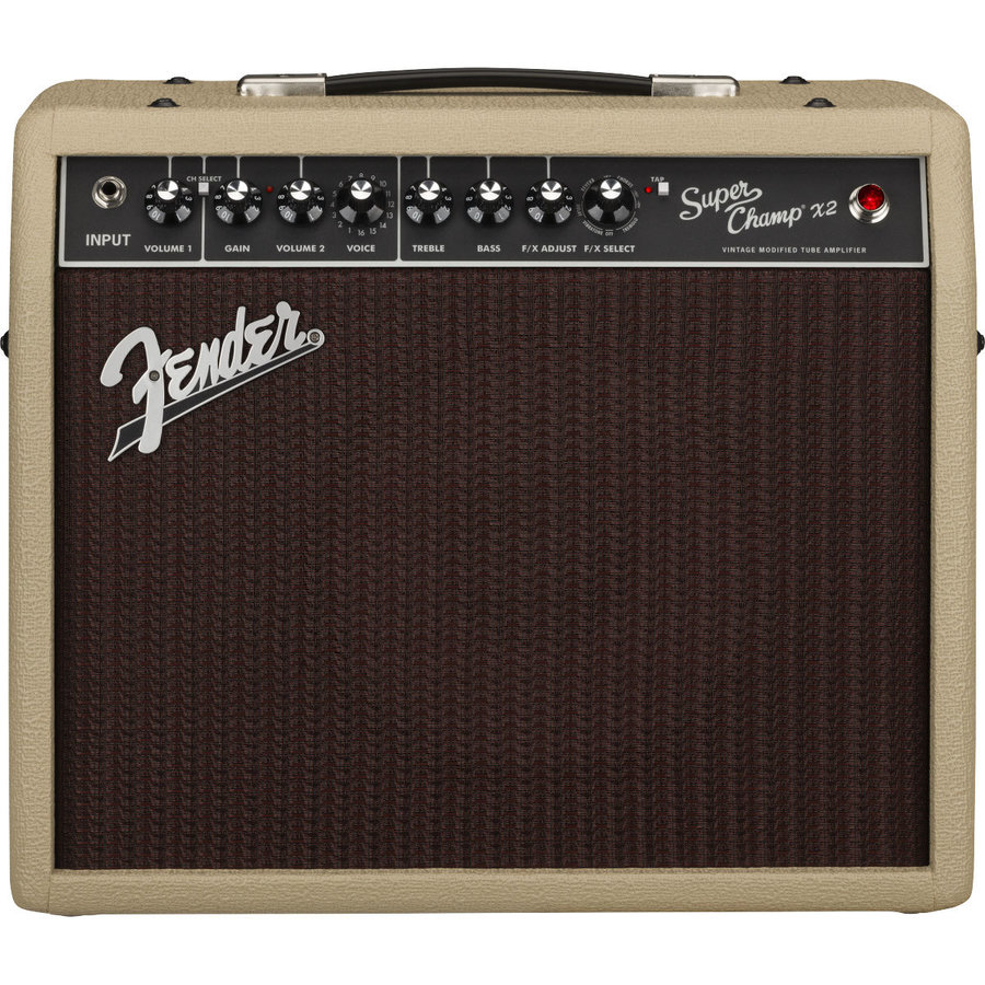 View larger image of Fender Limited Edition Super Champ X2 Cajun Tube Amp - Blonde