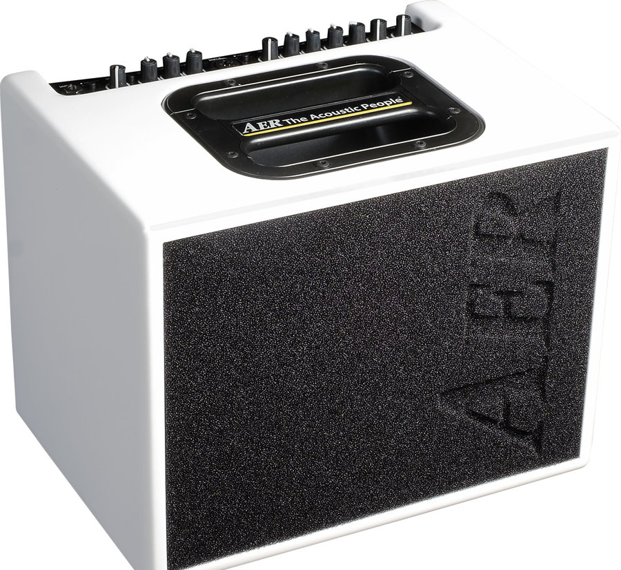 View larger image of AER Compact 60/4-WMF Guitar Amp - White Matte